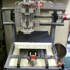 [Cooperman] had been poking around the 'net checking out DIY CNC machines for a while. He wanted to build one. During his search, he noticed that there was a common thread amongst homemade machines...