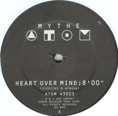 """Mythe - Heart Over Mind 12"""" ultimate end of night closing song!"""