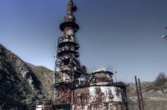 巨大硫酸工場跡 足尾銅山