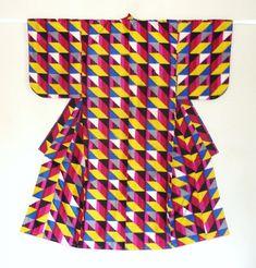 meisen kimono. designs from 1930s - 1950s. Haruko Watanabe.