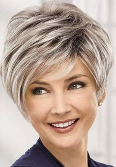 3 Joyous ideas: Braided Hairstyles For Homecoming boho hairstyles brown.Fringe Hairstyles Messy braided hairstyles for blackhair. Short Grey Hair, Short Blonde, Short Fine Hair, Haircut For Older Women, Short Hairstyles For Women, Short Hair Cuts For Women Over 40, Teenage Hairstyles, Everyday Hairstyles, Fringe Hairstyles