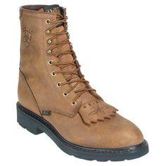 Ariat Men's 10002418 Cascade Brown 8-Inch Slip-Resistant Boots