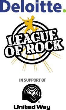The Deloitte League Of Rock and The United Way... It's all good.