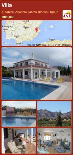 Villa in Albatera, Alicante (Costa Blanca), Spain ►€325,000 #PropertyForSaleInSpain