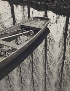 L'automne sur le Clain, Poitou / Autumn on the Clain, Poitou, 1931, François Kollar. French (1904 - 1979)
