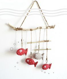 Handmade Deco Bedroom Bebe # 3 - The 25 Best Of The . Fish Crafts, Diy And Crafts, Arts And Crafts, Sewing Projects, Sewing Crafts, Diy Projects, Diy For Kids, Crafts For Kids, Fabric Fish