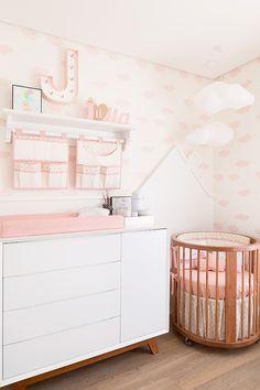 Quarto de bebê, Quarto rosa para bebê, Quarto rosa, Bianchi, J