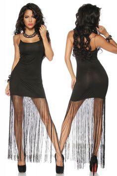 Party Tanz-Kleid mit Fransen - My-Kleidung Onlineshop