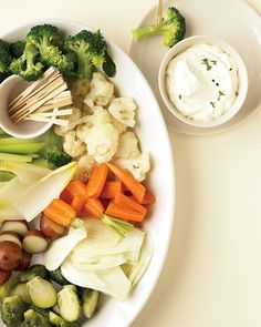 Serve this simple, elegant dip with crudites such as carrots, fennel, endive, and broccoli. (sub mascarpone for sour cream)