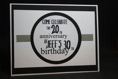 50th Birthday invite - Scrapbook.com