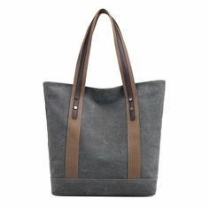 eb90f5777e24 Details about Casual Women s Hobo Canvas Handbag Retro Shoulder Bags Purse  Tote Large Satchel