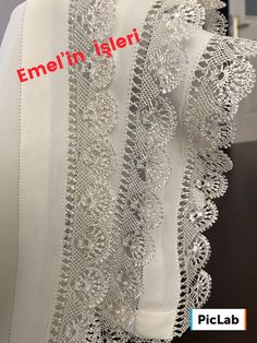 Asumman Diy Crafts For Gifts, Needle Lace, Embroidery, Crochet, Closet Dividers, Castles, Lace, Craft, Amigurumi