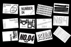 """k-i-o-s-k: """" The many business cards of Number 04. """" ;)"""