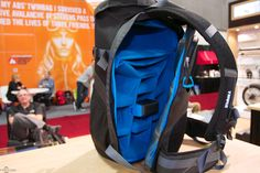 Tule Persepektiv Backpack ...  ..is lightweight, capable of carrying 6-7 additional lenses, a 15 MacBook Pro, and a bunch of accessories. Comes with a pack rainfly, too! Perfect for mucking about in all weather. In. Love.  @Sarah Chintomby Bergeron