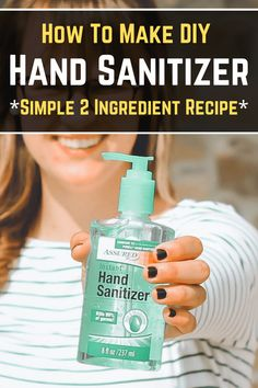 Use this homemade hand sanitizer recipe to make a gentler hand sanitizer. It uses aloe vera gel as the base for your DIY hand sanitizer. Use isopropyl alcohol so your hand sanitizer is alcohol. Diy Cleaning Products, Cleaning Solutions, Cleaning Hacks, Emergency Prep Products, Homemade Cleaning Supplies, Emergency Supplies, How To Make Diy, Make Your Own, Make It Yourself
