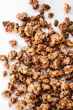 Date-Sweetened 3 Seed Granola   Vegan, Gluten-Free, Oil-Free