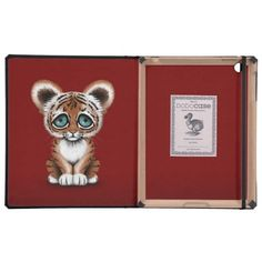=>>Save on          Cute Baby Tiger Cub with Blue Eyes on Deep Red iPad Folio Cases           Cute Baby Tiger Cub with Blue Eyes on Deep Red iPad Folio Cases we are given they also recommend where is the best to buyDeals          Cute Baby Tiger Cub with Blue Eyes on Deep Red iPad Folio Cas...Cleck Hot Deals >>> http://www.zazzle.com/cute_baby_tiger_cub_with_blue_eyes_on_deep_red_case-256568617315054398?rf=238627982471231924&zbar=1&tc=terrest