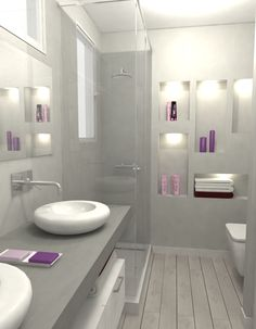 Proyecto de reforma del baño de nuestra reforma de carrer Balmes de Barcelona.