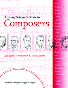 Young Scholar's Guide to Composers (Digital Edition) • Bright Ideas Press