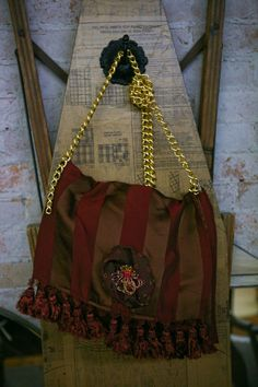 Fun Handbag made from Vintage Runner with by VintageGardensKS