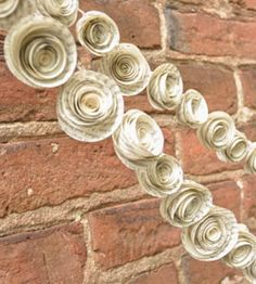 Recycled Book Page Garland - Set of 2 | INACTIVE Wedding | Lille Syster | Scoutmob Shoppe | Product Detail