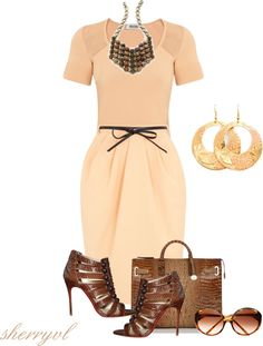 """Perfectly Pleated"" by sherryvl on Polyvore"