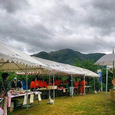 三隅中学校のみかん色ジャージ、頑張ってるよ♪@香月美術館ハーブまつり #30jidori #yamaguchi #nagato instagram.com/p/aUi2qAn7UJ/