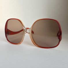 Vintage 60s Hippie Oversized France Made Plastic Sunglasses by ENGARLAND on Etsy