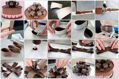 Moño de chocolate