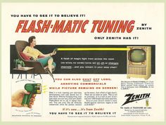 """AHHH I changed my name to get rid of the Flash image and now that: """"Flash-Matic"""" was the first remote control :)"""