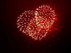 """Nice fireworks heart! -- (Click through was a 2009 post about """"Festivals And Fireworks In MetroDetroit"""")"""