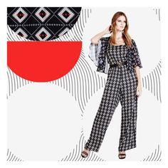 #GetTheLook Muita gente está apaixonada por este macacão da tendência Folk Story! E você? #Riachuelo #FolkStoryRCHLO (macacão R$ 129,90 | kimono R$ 49,90)