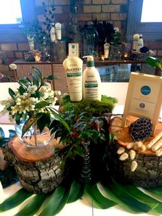 The Aveeno Daily Moisturising range front and centre. Public Relations, Centre, Journey, Range, Events, Table Decorations, Day, Cookers, The Journey