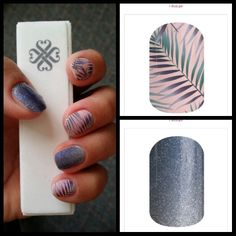 Jamberry nail wraps Features Rose quartz Getaway and Serenity Ombre. Get the look zendie.jamberry.com
