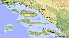 Do Dalmacji należy mocno rozczłonkowane wybrzeże Adriatyku od Rijeki po zatokę Kotor oraz leżące przed nim grupy wysp. Wzdłuż wybrzeża przebiega pasmo Gór Dynarskich. Osiągają one przecię Więcej: http://www.chorwacja24.info »