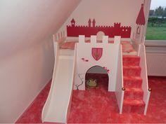 """Ein Zuhause für kleine Prinzessinnen! """"Bettverkleidung -Prinzessinenschloss"""" Details findet ihr hier: http://www.toom-baumarkt.de/selbermachen/kreativwerkstatt/details/bettverkleidung-prinzessinenschloss-2761/ #toom #Baumarkt #toomBaumarkt #toomTeam #Heimwerken #DIY"""
