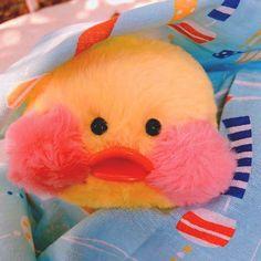Cute Stuffed Animals, Dinosaur Stuffed Animal, Pink Chests, Duck Toy, Cute Love Gif, Baby Ducks, Cute Plush, Dark Photography, Cute Toys