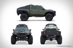 Toyota Tacoma Polar Expedition Truck  #toyota #windscreen http://www.windblox.com