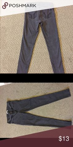 Black hollister jeans Faded black hollister jeans. Size 9L but fit more like a 7!! They're super cute and skinny! Hollister Jeans Skinny