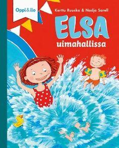 Sunnuntai on Elsan mielestä paras viikonpäivä, sillä se on koko perheen vapaapäivä. Elsa on lähdössä ensimmäistä kertaa uimahalliin äidin ja pikkuveljensä Laurin kanssa. Loiskis! Miten lapsi totuttautuu veteen ja oppii liukumaan veden alla? Miksei uimahallissa saa juosta ja huutaa?  Hauskan ja mukaansatempaavan tarinan lisäksi jokaisen kirjan lopussa on aiheeseen liittyvä tieto-osuus, jonka avulla lapsi voi opetella mielenkiintoisia asioita ja keskustella niistä yhdessä aikuisen kanssa. Tieto, Sunnuntai, Elsa, Books, Kids, Young Children, Libros, Boys, Book