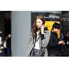 Hbnam of Streetfsn Shoots Street Style at Fashion Week Tokyo