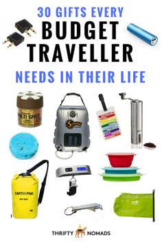 30 Gifts Every Budget Traveller Needs in Their Life
