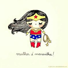 Cartoon Wonder Woman