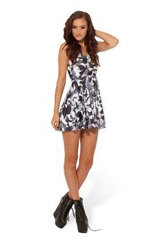 Raven Reversible Skater Dress by Black Milk Clothing $85AUD