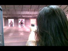 My first time shooting my husbands glock.