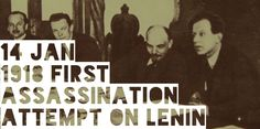 14 January The first failed assassination attempt on Lenin takes place as Fritz Platten saves Lenin from death High School Students, Student Learning, January, Death, History, Movie Posters, Historia, History Activities, Film Posters
