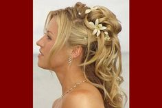 4. half up half down wedding hairstyles