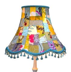 Patchwork Lampshade - Summer Fun Lampshade - The Baobab Tree