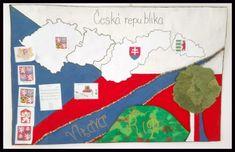 Celkem velká mapa ČR – výročí 100 let republiky – Družina EM Drawing, Line Art, December, Party, Sketches, Line Drawings, Parties, Drawings, Draw