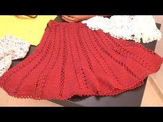 Suely Pontes ensina pontos para uma linda saia em crochê. - YouTube